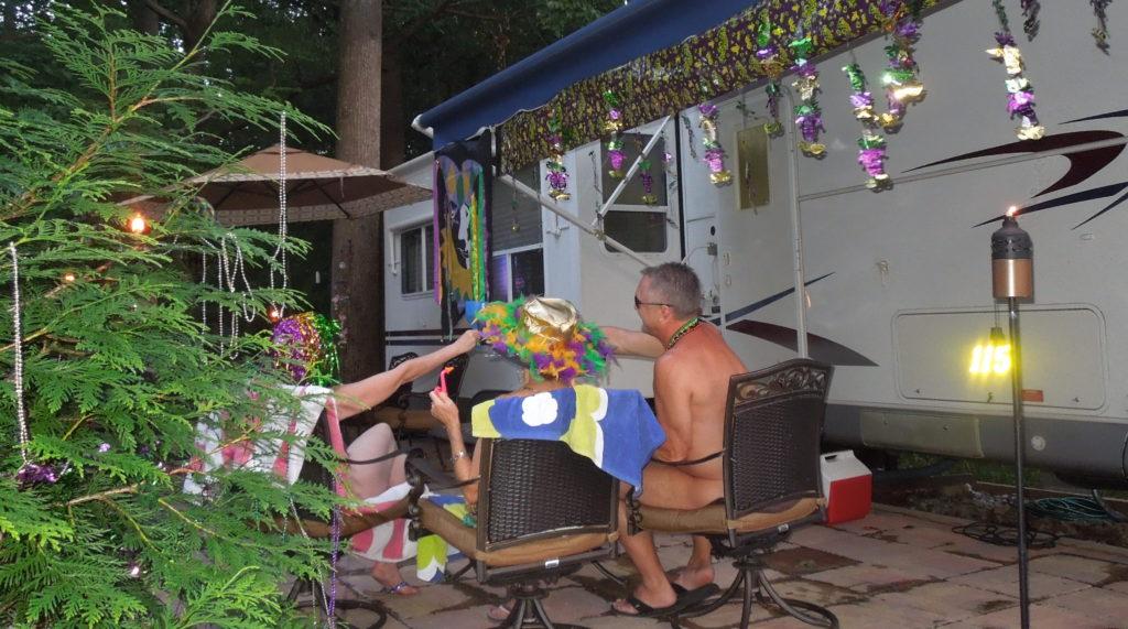 """Club overview: Members enjoying their weekend getaway """"home"""" at Pine Tree."""