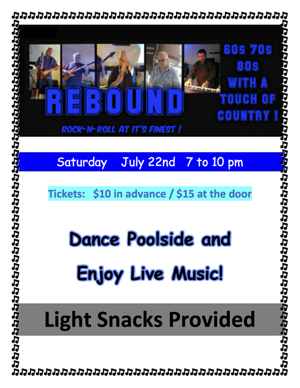 ance with live music by REBOUND