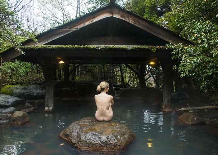 Japanese bath photo.