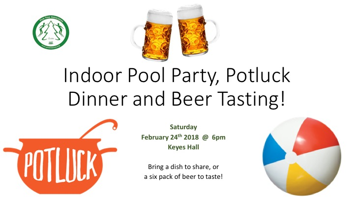 Pine Tree's Pool and Beer Party Potluck