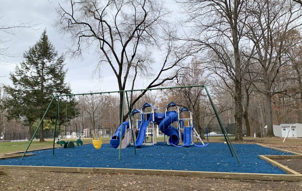 Children's playground at Pine Tree